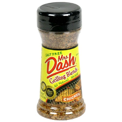 Dash Grilling Blends (Mrs. Dash Grilling Blends, Chicken, 2.4-Ounce Shaker (Pack of 6))