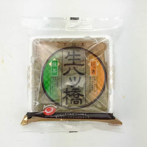 Hakushindo Nama Yatsuhashi Nikki & Matcha 5.66oz (Pack of 8)
