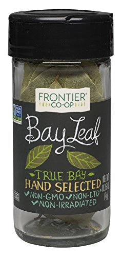 0.16 Ounce Bottle (Frontier Bay Leaf Whole, 0.16 Ounce Bottles (Pack of 3))