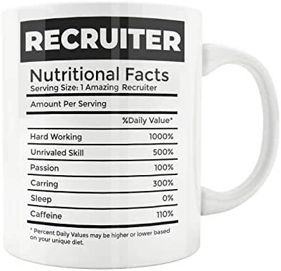 Gift For Recruiter Recruiter Mug Recruitment Consultant Gift Human Resources Gift Recruit Training Recruiter Funny Gift Mug Recruiter