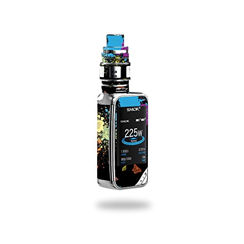 MightySkins Skin Compatible with SMOK X-Priv 225W - Splatter | Protective, Durable, and Unique Vinyl Decal wrap Cover | Easy to Apply, Remove, and Change Styles | Made in The USA
