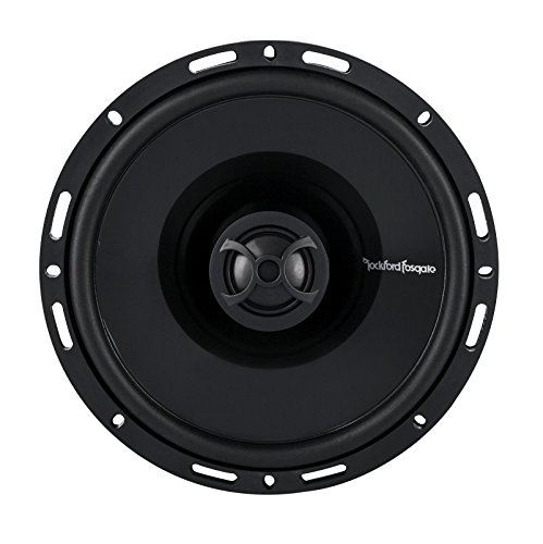 Rockford P1650 6.5-Inch 2-Way Full Range Euro Fit Compatible Speaker Car Coaxial Speakers at amazon
