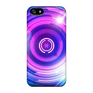 AWU DIYBrand New 5/5s Defender Case For Iphone (abstract Lights)