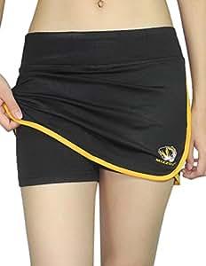 Womens MISSOURI TIGERS Athletic Yoga / Fitness Skort (Skirt / Shorts) L WomensBlack