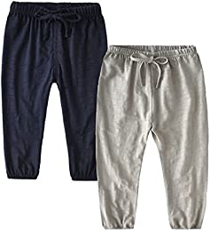 Unisex Baby Boys Girls Casual Pants Anti-Mosquito Pants  1 Pack 2 Pack