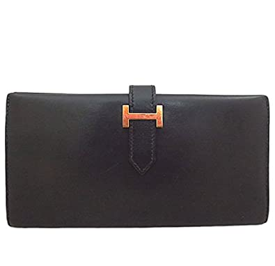 competitive price 3d12f 14177 Amazon   HERMES(エルメス)ベアン ボックスカーフ ファスナー ...