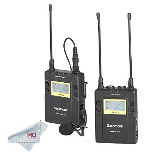 Saramonic UwMic9 96-Channel Digital UHF Wireless Lavalier Mi