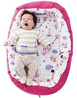 Nido para bebes nest reductor protector cuna para cama desenfundable Edad 0 a 6 meses Cuna