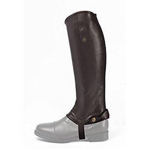 Brogini Unisex Adults Leather Treviso Regular Gaiters Brown gIxdgSdM2