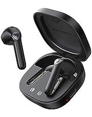SOUNDPEATS TrueAir2 trådlösa öronsnäckor Bluetooth V5.2 hörlurar Trådlösa hörlurar med Qualcomm QCC3040 TrueWireless Mirroring 4-Mic cVc 8.0 Totalt 25 timmar svart