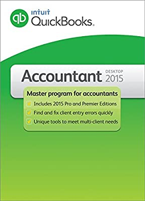 QuickBooks Premier Accountant 2015 2-User