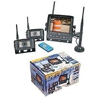 VEHICLE OBSERVATION BACK-UP CAMERA SYSTEM - HIGH RES 5.6 Monitor / 2 Cameras