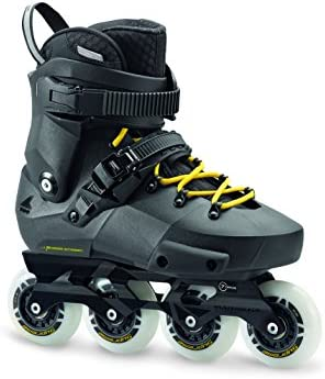 Rollerblade Twister Edge Men s Adult Fitness Inline Skate, Black and Yellow, High Performance Inline Skates