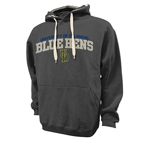 NCAA Delaware Fightin' Blue Hens Peerless Redux Hood, Dark Grey, ()