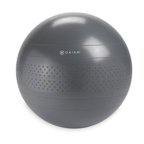 Gaiam Balance Ball Grey 65cm