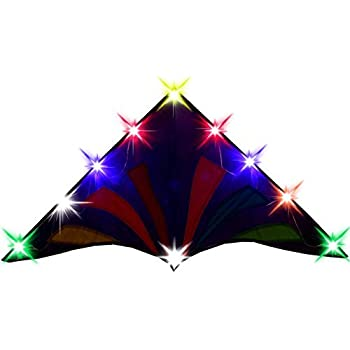 Let There Be Lights And Kites Again >> Amazon Com Hengda Kite 136 Led Night Kite Soft Cloth Ufo Flying