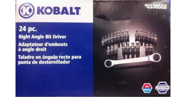 Amazon.com: Kobalt 24 Pc Right Angle Bit Driver # 338552 by Kobalt ...