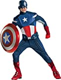 Morris Costumes Men's CAPTAIN AMERICA AVENGERS THEAT - 50-52