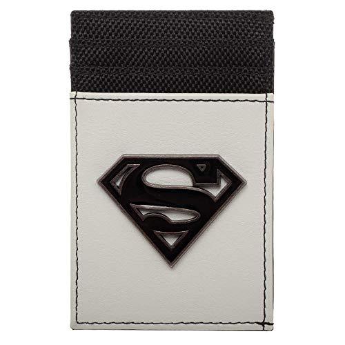 (Superman Wallet Front Pocket Wallet Superman Accessory - DC Comics Wallet Superman)
