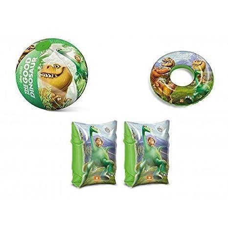 Inflable Manguitos , Bola de agua y Flotador Arlo y Spot The Good Dino: Amazon.es: Juguetes y juegos