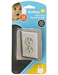 Safety 1st 12 Pack Ultra Clear Outlet Plugs BOBEBE Online Baby Store From New York to Miami and Los Angeles