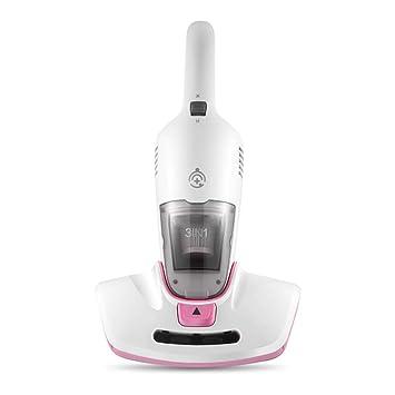 Ting Ting Aspirador de colchones, 300W, 0.6L, Almohadas, sofás y Cortinas con Doble luz UV-A y Filtro Multicapa,Pink: Amazon.es: Hogar