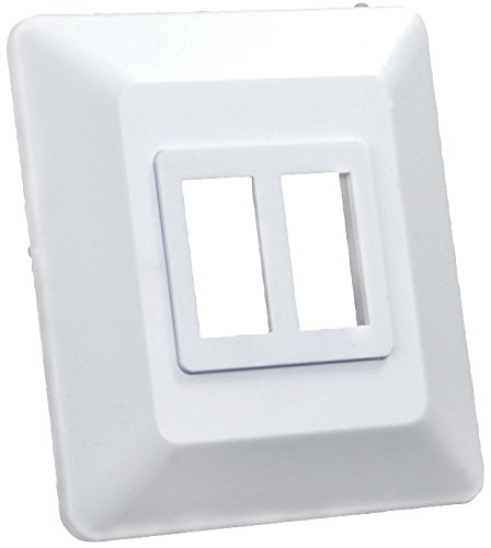 JR Products 13615 Switch Base and Face Plate - Double