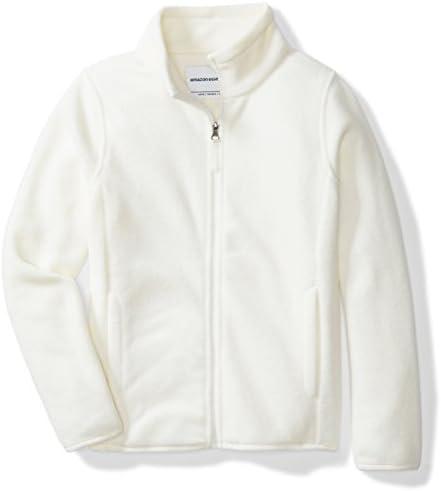 Basic Knit Girls Cardigan Jacket Sweater Black Fuchsia Ivory Red White 2-12