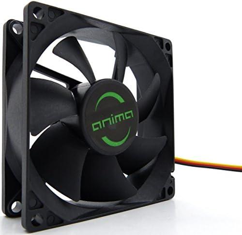 Tacens Anima AF8, ventilador para PC, 8cm, 12v, 12dB, 7