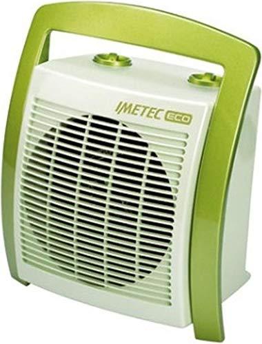 Imetec Eco Scaldabagno.Imetec Eco Silent Fh5 100 Termoventilatore Silenzioso A Basso Consumo Energetico Maniglia Ergonomica 3 Livelli Di Temperatura Termostato Ambiente