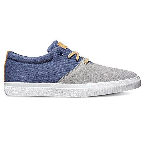 Diamond Supply Co Torey Skateboardschoenen - Grijs / Blauw Grijs / Blauw