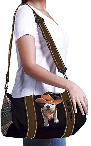 Borsa Borsone Donna Teo Jasmin Bag Big Teo Cowboy Orchidea Roll Bag