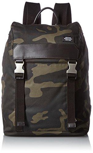 Jack Spade Men's Waxwear Army Backpack, Camo by Jack Spade