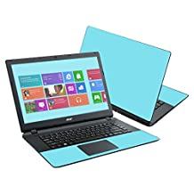 """Mightyskins Protective Vinyl Skin Decal Cover for Acer Aspire E15 ES1-511 15.6"""" Cover wrap sticker skins Solid Baby Blue"""
