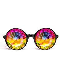 Xtra Lite Kaleidoscope Glasses Lightweight Crystal EDM Festival Diffraction