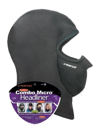 - Seirus Innovation Unisex Combo Micro Polartec Headliner - Head Face and Neck Warmth Protection