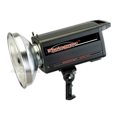 (Photogenic PL2500DRC PowerLight Digital Remote Flash Unit, 1000ws, with UV Color Corrected Flash Tube)