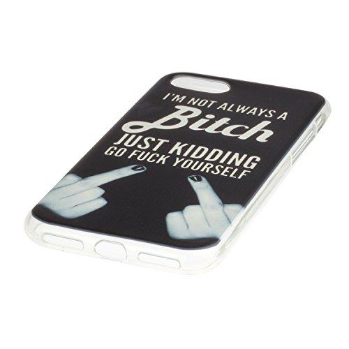 """Hülle iPhone 7 Plus / iPhone 8 Plus , LH Finger TPU Weich Muschel Tasche Schutzhülle Silikon Handyhülle Schale Cover Case Gehäuse für Apple iPhone 7 Plus / iPhone 8 Plus 5.5"""""""
