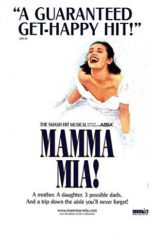 Mamma Mia Broadway Broadway Show Poster