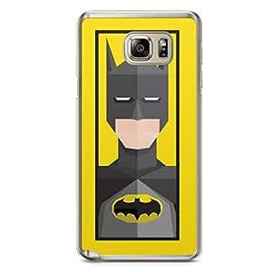 Batman Samsung Note 5 Transparent Edge Case - Street Fighter Polygonal Collection
