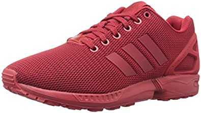 adidas Originals Men's Shoes | ZX Flux Fashion Sneakers, Power Red/University Red/Cardinal, (9 M US)