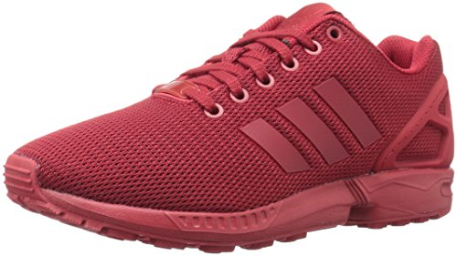 adidas Originals Men's Zx Flux Fashion Sneaker, Power Red/University Red/Cardinal, 11 M US