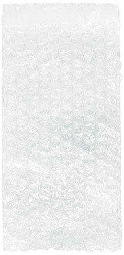 100 packs 4×7.5 SELF-SEAL CLEAR BUBBLE OUT POUCHES BAGS 3/16″ WRAP 4″x7.5″