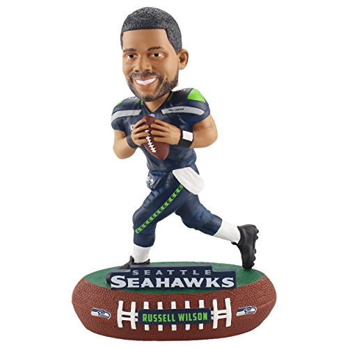 Forever Collectibles Russell Wilson Seattle Seahawks Baller Special Edition Bobblehead NFL