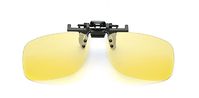 Embryform Retro Polarized Clip sur Flip up Lunettes de soleil en plastique Conduite Pêche Voyager kuNBN