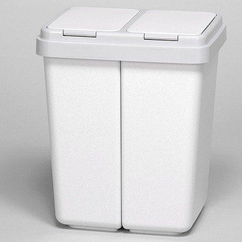 Duo Bin 2 mal 25 Liter Mülltrenner