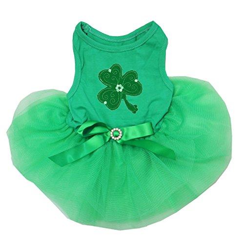 Kirei Sui Pets St. Patricks Day Dogs Green