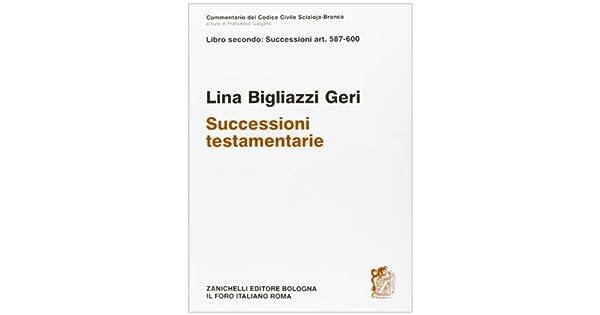 Amazon.com: Delle successioni testamentarie (Commentario del ...