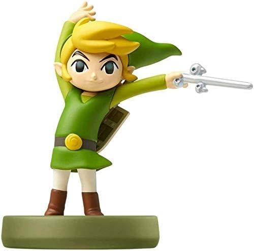 Nintendo - Figura amiibo Link Wind Waker, Colección Zelda: Amazon ...