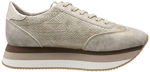 Tamaris 23703, Sneakers Basses Femme Or (Gold Comb)